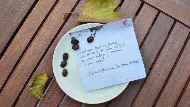 (foto, video) Și-au plătit cafeaua cu o poezie