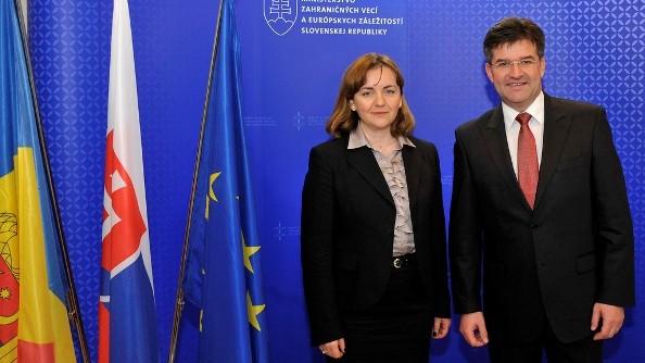 RM poate miza pe suportul Slovaciei în integrarea europeană