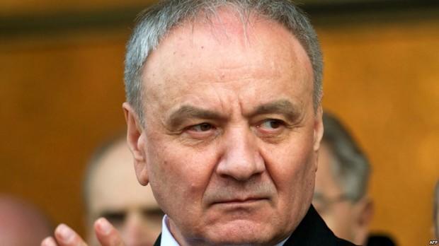 Timofti a confirmat în fața lui Putin că Moldova a ales calea integrării europene