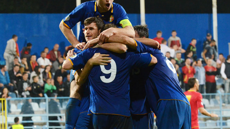 Moldova a urcat 33 poziții în clasamentul FIFA