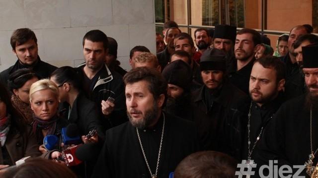 Discursul Protoiereului, Anatolie Cibric, de la protestul din fața Palatului Republicii