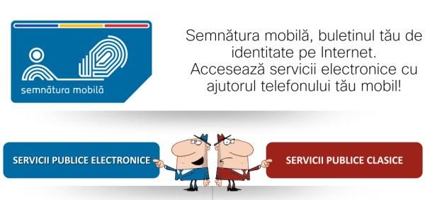Semnătura mobilă poate fi folosită gratuit