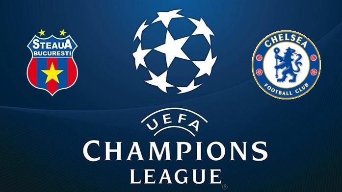 UCL: Steaua v Chelsea azi, 21:45. Vezi toate meciurile LIVE!