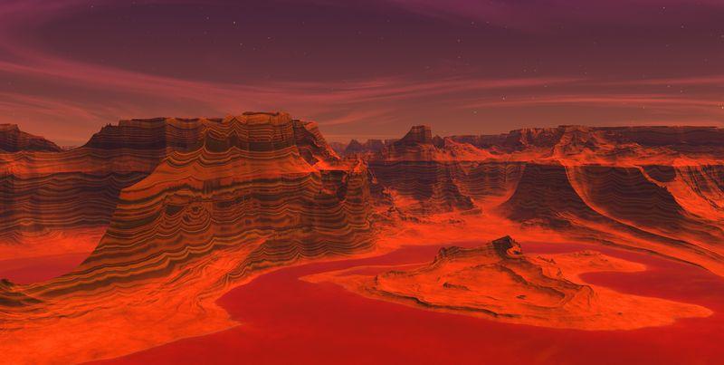 (foto) Imagini incredibile de pe Marte