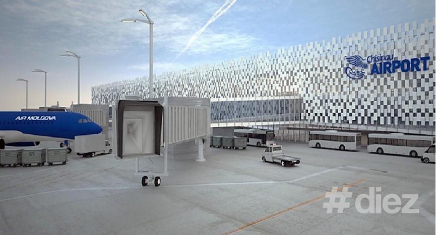 Investitorul rus și-a prezentat proiectul de renovare a aeroportului Chișinău