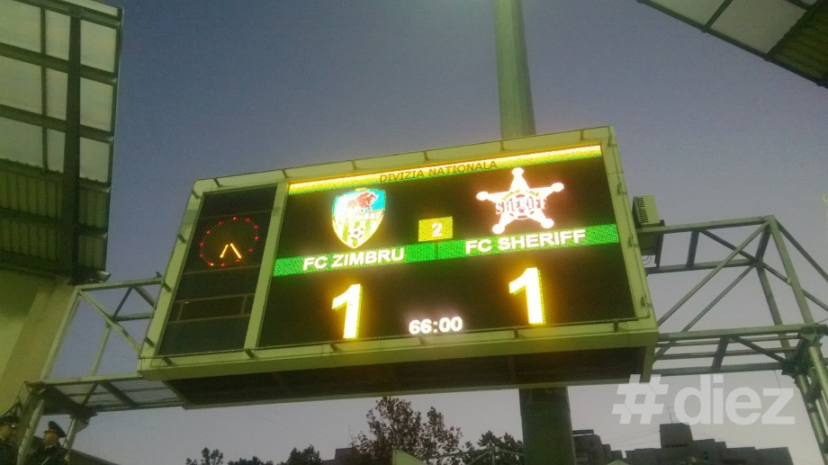 (foto) El-Classico de Moldova s-a încheiat cu 1 – 1