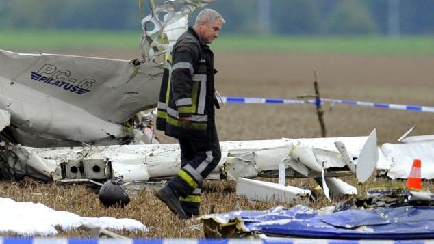 Avionul prăbușit în Belgia mai avea în spate un accident și 44 de ani