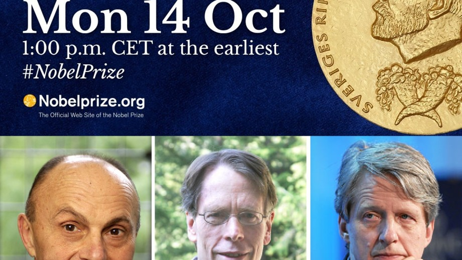 3 americani au câștigat Premiul Nobel pentru Economie