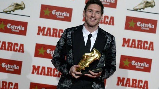 Messi obține a 3-a Gheată de Aur din carieră