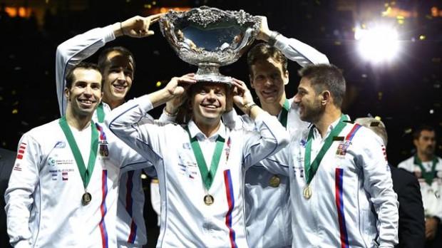 Cupa Davis: Cehia învinge Serbia pentru a-și reține titlul
