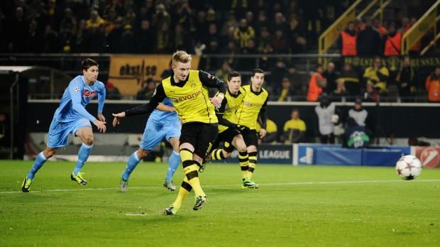 Rezultate Champions League 26.11.2013 : Dortmund 3 – 1 Napoli