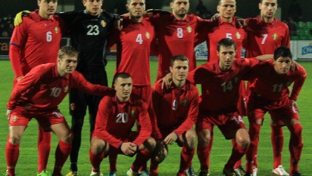 Selecționata Moldovei de Fotbal ocupa locul 97 în clasamentul FIFA