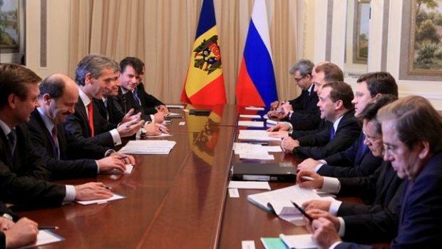 Leancă a discutat cu Medvedev despre exportul de vinuri în Rusia