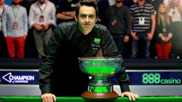 Snooker: O'Sullivan încoronat cu titlul de Campion al Campionilor