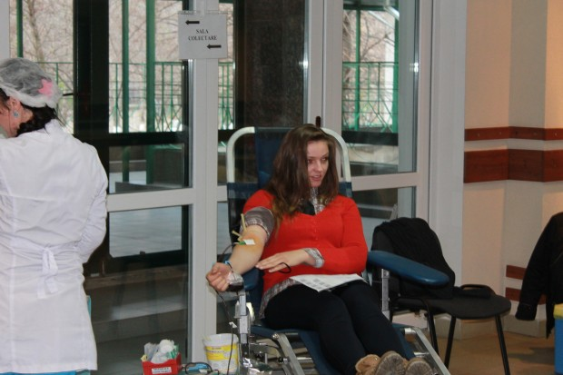 USM-ul donează sânge!