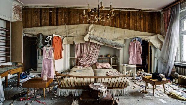 (foto) A călătorit în jurul lumii pentru a poza cele mai frumoase clădiri abandonate