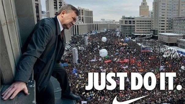 Creativitate pe Twitter și Facebook la protestele din Ucraina