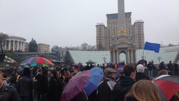(video) #euromaidan – un început de trend pe twitter
