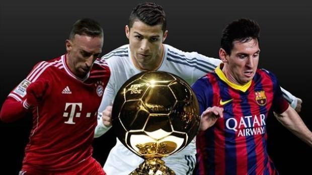 FIFA Ballon d'Or 2013: Ronaldo, Messi sau Ribéry?