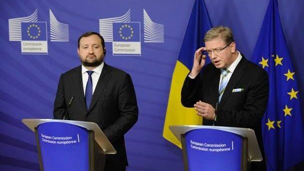 Štefan Füle: UE a suspendat negocierile cu Ucraina