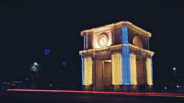 (foto) Monumente din întreaga lume în culorile Ucrainei