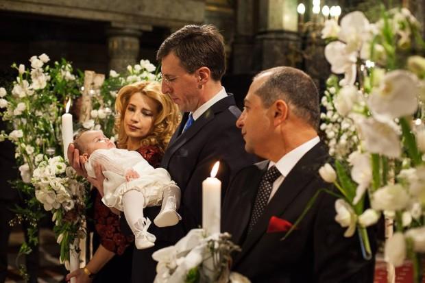 Foto Dorin Chirtoacă Naș La Botezul Nepoatei Lui Traian Băsescu
