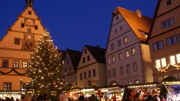 """(Foto) Istoria """"Orașului Crăciunului"""", Rothenburg, Germania"""
