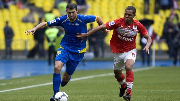Alexandru Gaţcan – cel mai bun fotbalist moldovean în 2013