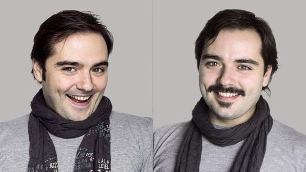 (foto) Participanții la #movember Moldova cu și fără mustață