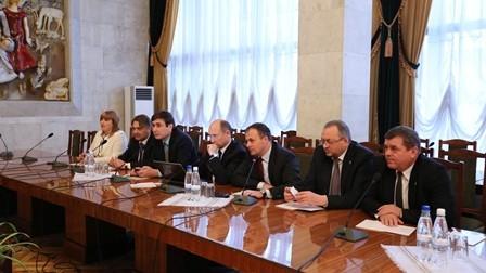 Delegația Parlamentului RM a avut o întrevedere cu reprezentanții FMI