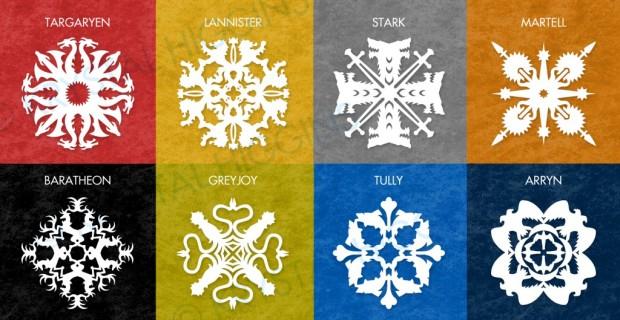 """Decorații de iarnă în stil """"Game of Thrones"""""""