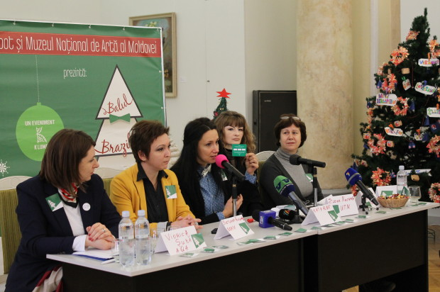 Viorica Suba (AQA), Svetlana Pociumban (MNAM), Nata Albot (K-Lumea), Elena Musteață (UTM), Lumininita Gorcinschi (AMTAP)