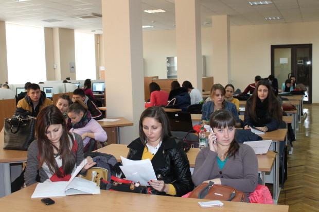 Studenții USM la prezentarea Startup Moldova