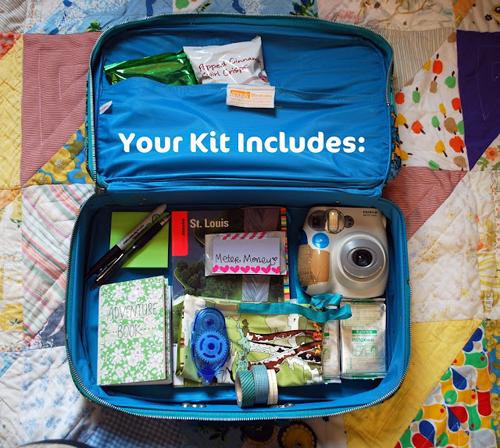 Travel Art Journal Kit Challenge