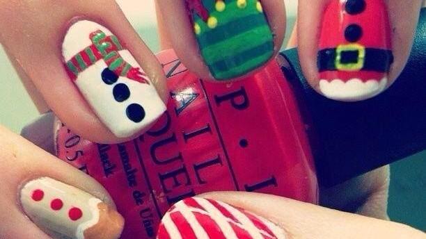 (foto) Manichiură de Crăciun II
