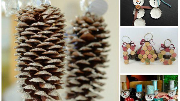 (foto) 20 de idei de decorații pentru Crăciun, pe care poți să le faci singur