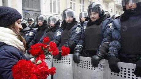 EuroMaidan-ul din 8 decembrie 2013. A început bine, s-a terminat nu prea
