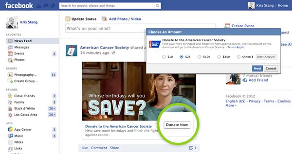 Puteți face donaţii către ONG-uri direct pe Facebook