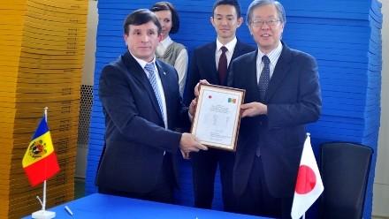 Ajutor sportiv acordat Republicii Moldova de către Japonia