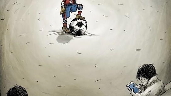 "(foto) ""Probleme"" cotidiene văzute sarcastic prin caricaturi"