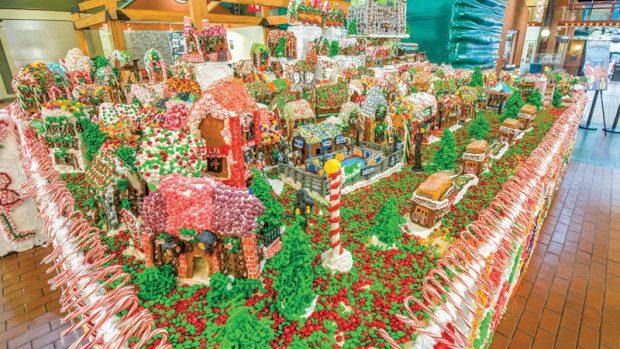 (foto) Cel mai mare oraș din dulciuri intră în cartea recordurilor