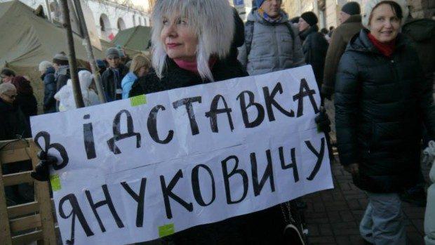 """(video) Mișcarea populară """"Maidan"""" a fost creată de protestatarii de pe #euromaidan"""