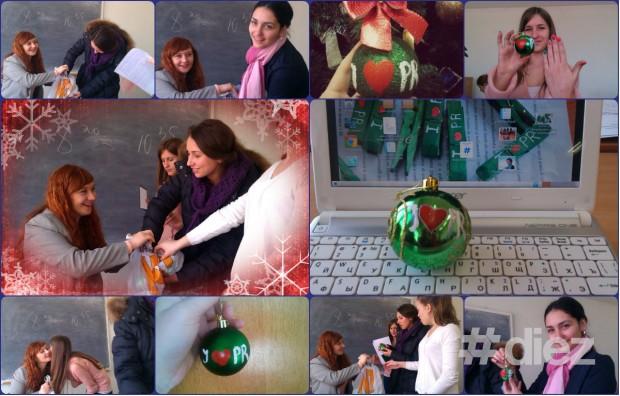 Cadourile Elenei Draguțan studenților săi