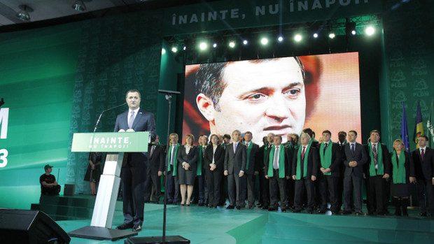 Vlad Filat a fost reales preşedintele PLDM