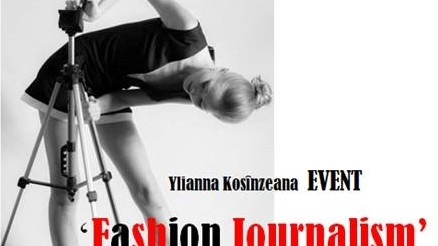 Pregătește-te de seminarul  Fashion Journalism
