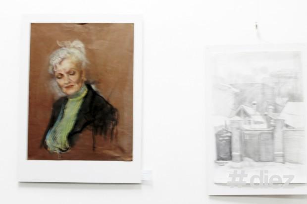 Lucrări de la expoziția cu genericul ''Fuziunea Impresiilor''-Portrete