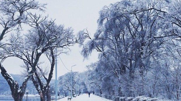 (foto) Codul Galben de ninsoare văzut pe Instagram