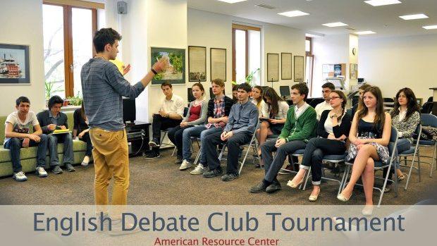 Centrul American de Resurse vă invită la un turneu de dezbateri