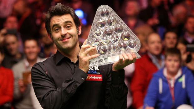 Snooker: Ronnie O'Sullivan câștigă al 5-lea trofeu de Masters