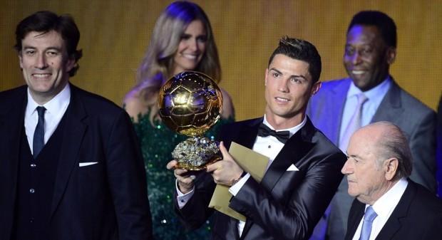 Cristiano Ronaldo câștigă al doilea Balon de Aur